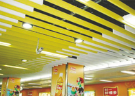 Indoor Linear Strip Metal Ceiling Water Drip For suspended ceiling , weather resistance