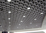 Triangle Suspended Metal Ceiling Drop Sound Absorbing Grid / Grille