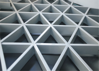 Decorative Metal Grid Ceiling / Ceiling Decorative Panels for Open Area