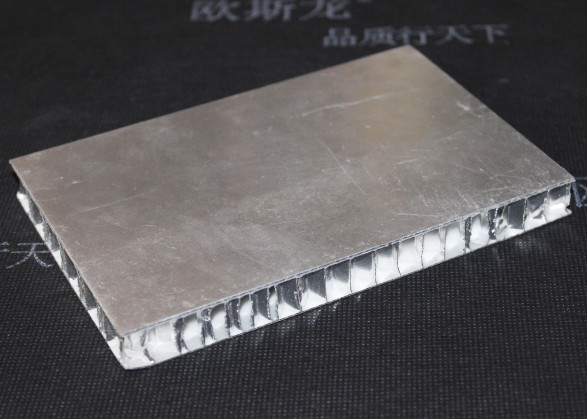 Aluminium Honeycomb Panel , Decorative Building Exterior Wall Tile Tegular